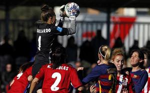 El Barça de Xavi Llorenç empató sin goles en su visita al campo del Atlético