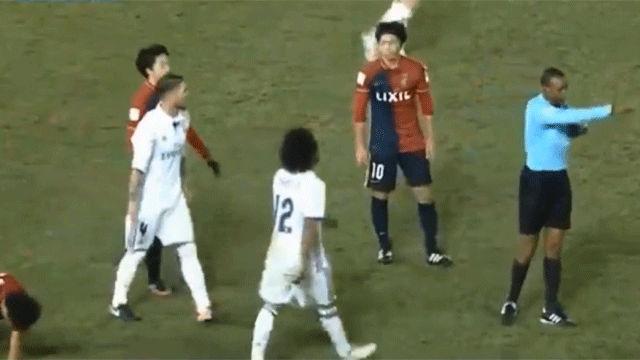Sergio Ramos debió ser expulsado