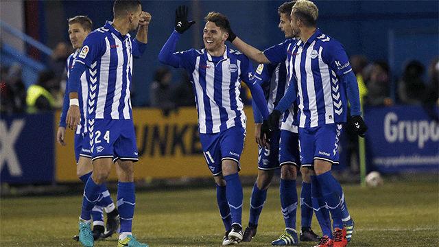 Video resumen: Los goles de Ibai en el Alcorcón - Alavés (0-2). Ida cuartos, La Copa 2016-17
