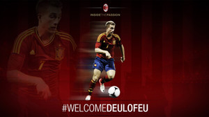 El Milan dio la bienvenida a Deulofeu en Twitter