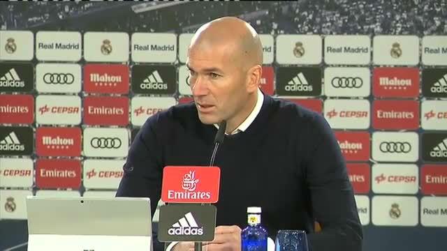 Zidane: Mi estado anímico es jodido