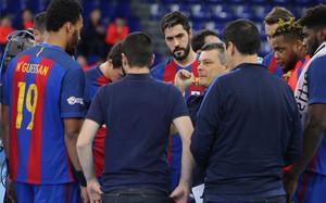 Xavi Pascual espera conseguir una nueva victoria en la Liga ASOBAL
