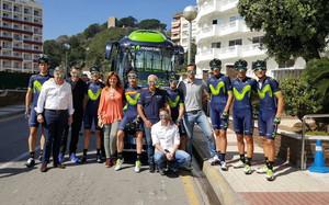Unzué, junto al equipo Movistar