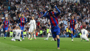 Real Madrid, 2 - FC Barcelona, 3