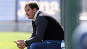 Lardín ha hecho un balance positivo de la temporada del Espanyol
