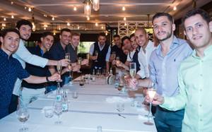 La plantilla disfrutó de una cena de equipo tras la final de la LNFS