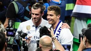 Cristiano Ronaldo y Bale son los dos estandartes del Real Madrid