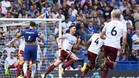 El Burnley se fue al descanso con tres goles de ventaja
