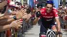 Contador se ve catapultado por el cariño de los aficionados