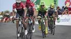 Contador, Froome, Woods y Chaves en la cima de Sanrta Lucía