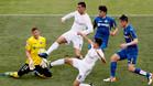 Cristiano Ronaldo en una acción durante el Getafe-Real Madrid de la pasada temporada
