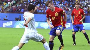 Sergio Gómez marcó el que puede ser el gol del Mundial