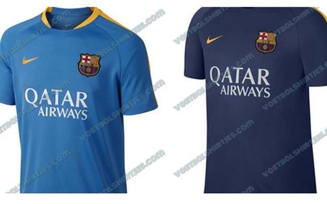 Así serían las nuevas camisetas Nike de entrenamiento del Barça
