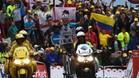 Romain Bardet fue el m�s valiente y dio la primera victoria al ciclismo franc�s