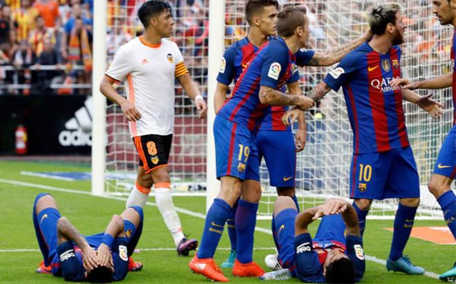 El Comit� de Competici�n critic� la actitud de los jugadores del Barcelona