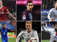 Coutinho, Di María, Eriksen, Lemar, Brandt y Fekir, en cartera