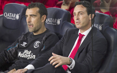 Emery lament� la derrota en el Camp Nou