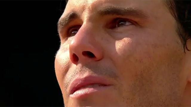 La emoción de Rafa Nadal al recibir su décimo Roland Garros