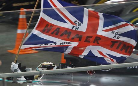 Lewis Hamilton, campeón del mundo de F1 por segunda vez