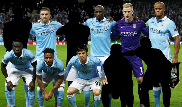 Los condenados de Guardiola en el Manchester City