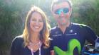 Luis Enrique vive en directo la etapa del Giro