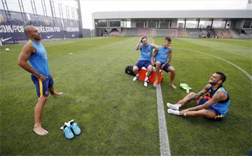 Messi y Neymar ya se entrenan juntos