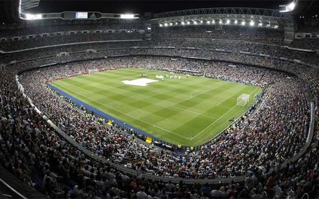 El Santiago Bernab�u, estadio del Real Madrid