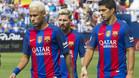 �Cu�ntas asistencias se han dado Messi, Su�rez y Neymar?