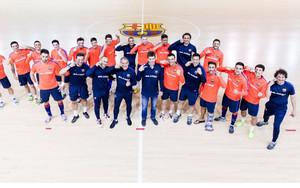 El Barça Lassa se apunta a #paralosvalientes