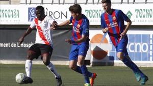 Los dos puntos que se dejó el Barça B en LHospitalet fueron recortados este domingo por el Alcoyano