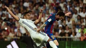 La falta de Casemiro a Leo Messi