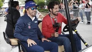 Alonso en Indianápolis