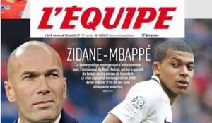 Zidane ha hablado con Mbappé