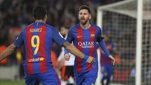 Luis Suárez también ha felicitado a Messi por su cumpleaños