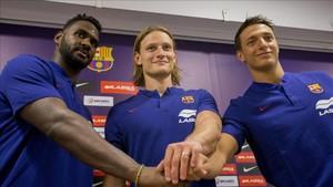 Las tres caras nuevas del Barça Lassa