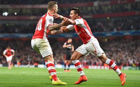 Alexis ya marca goles importantes con el Arsenal
