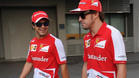 Alonso y Massa lucharon juntos en Ferrari