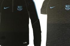 El FC Barcelona 2015-16 lucir� estos modelos en los entrenamientos previos a los partidos de la Champions League