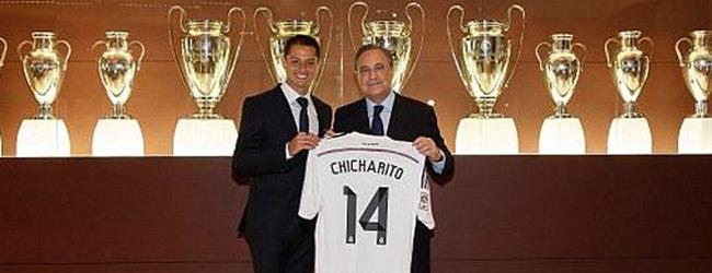 Chicharito, cedido al Madrid por una temporada