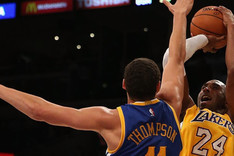 Kobe Bryant anot� 27 puntos insuficientes para llevarse el triunfo
