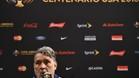 """Martino: """"Messi tiene un nivel similar al del Barcelona"""""""