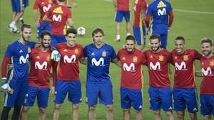 La selección española conocerá a sus rivales el 1 de diciembre