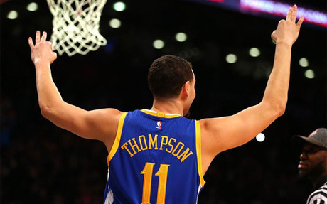 Thompson destron� a Curry