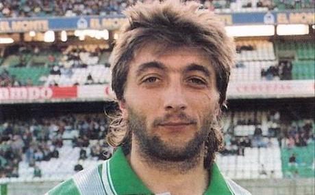 Trifon Ivanov defendi� la camiseta del Betis entre los a�os 90 al 93