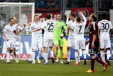 El Bayern venció 1-0