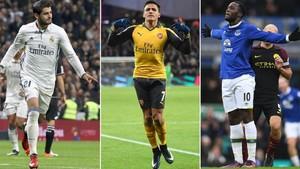 Alexis, Morata o Lukaku podrían llegar al Chelsea.