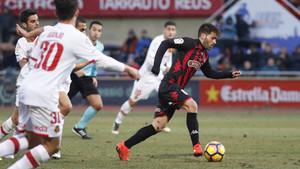 Víctor Silva saltó al terreno de juego en la segunda parte