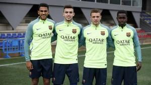 Estos son los cuatro jugadores del Juvenil A