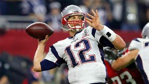 Tom Brady, quarterback de los New England Patriots