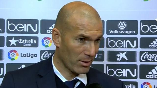 Zidane: Perdimos el partido en diez minutos
